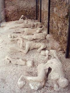 Calchi situati negli scavi di Pompei a 30 minuti dall 'appartamento