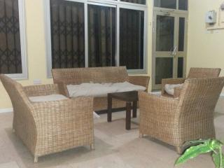 Relaxation area by private porch