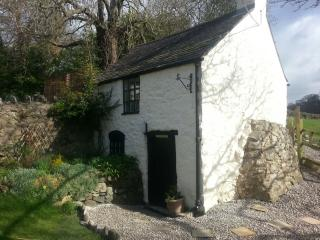 The Bothy, cute stone cottage with private wood-fired hot tub!