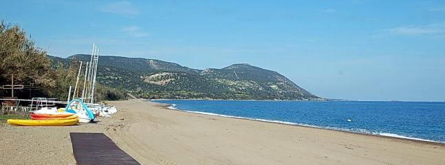 Latsi beach (10 min drive from Rose Garden Villa)