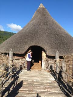 Crannog on nearby Loch Tay. See how we lived in the past.