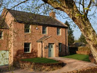 Private gated garden, gravelled parking and access to Grade II listed Melmerby Hall's 20 acre wood