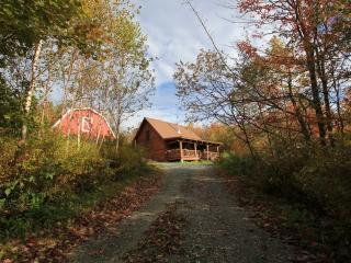 Berkshires Log Cabin with Views!, Charlemont