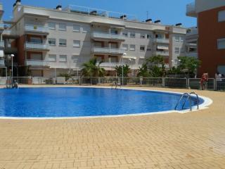 Apartamento con vistas al mar y piscina, Almenara