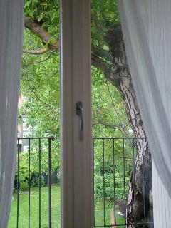 Aria vista su giardino