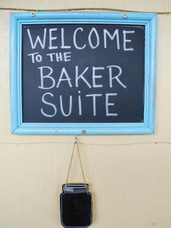 Baker Suite: Main Level one bedroom suite