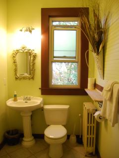 Baker Suite:  Bathroom with Shower