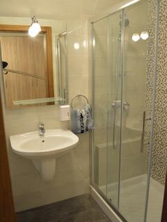ensuite shower bathroom