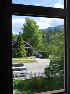 Victoria Suite:  View from bedroom