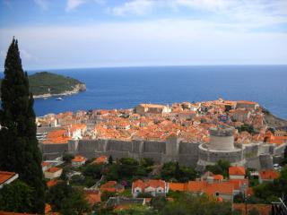 Skyline in the heart of Old town Dubrovnik