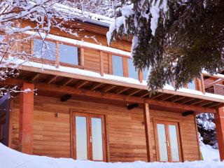 Chalet with Panoramic Views next to Ski Lift, Thollon-les-Mémises