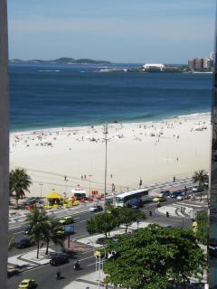 View from living room - Copacabana beach