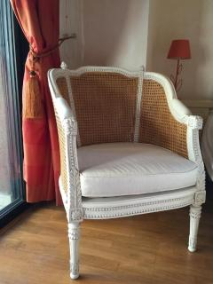 Lovely armchair in the bedroom