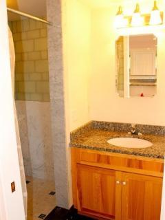 Bathroom W/ Lovely Tilework