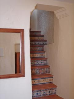 Stairs with 'azulejos'
