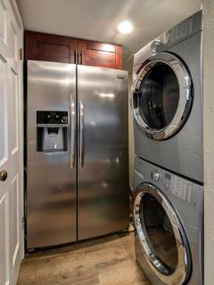 Laundry | Located off kitchen. Samsung W/D. Iron, laundry and cleaning supplies