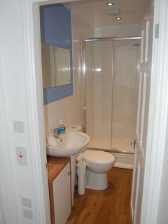 modern shower room on 2nd floor