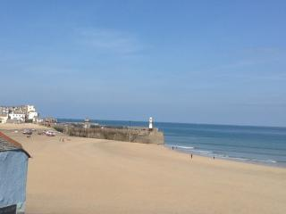 St Ives Harbour amazing sand and light