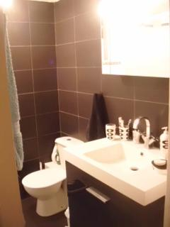 Chez-Nous Bathroom ,Large Shower,Vanity unit with Plenty of Cupboard Space