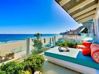Villa Captured in Paradise offers beachfront elegance, supreme comfort & views, Malibú
