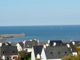 Vue sur la Baie de St Brieuc. Duplex, balcons, Binic