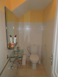 Toilet on the ground floor