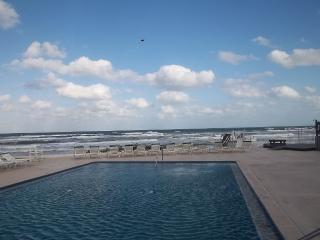 One of the few direct oceanfront, close set pools in all of New Smyrna Beach! Nothing blocks view!