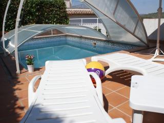 Ibiza style pool villa in Sitges. Barcelona.
