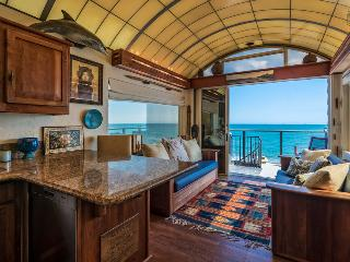 Beachfront with 3 decks, 2 modern kitchens & full of unique character - Miramar Dolphin Den, Montecito