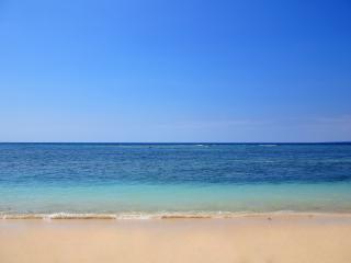The Beach Villa with private white sandy beach