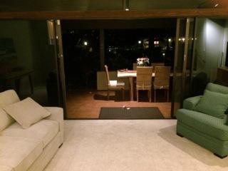 Evening Enjoyment in the Indoor/Outdoor Space