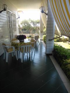 Il patio anteriore