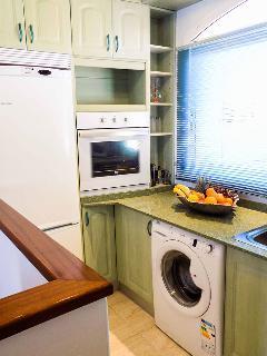 Cocina totalemnte equipada para que puedas cocinar como si estuvieras en casa