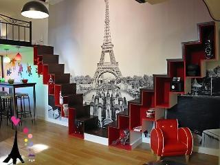 small and nice loft center of paris
