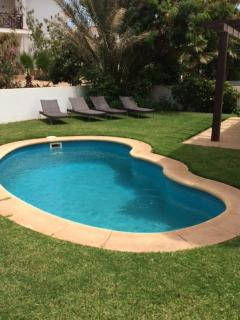 Private Pool and Sunloungers