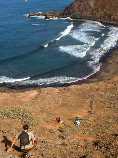 Volcán isla de Lobos