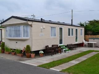 Caravan on the Popular Dinas Dinlle Holiday Park