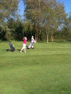 Enjoy a round of golf at our very friendly local club Wedmore Golf Club
