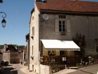 A short walk down the hill takes you to the village square with it's bar, restaurant and shops.
