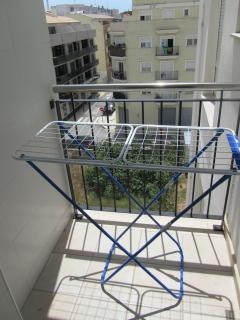 Terraza cocina con tendedero