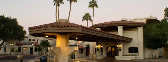 Entrance to Scottsdale Camelback Resort