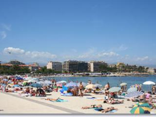 Juan les Pins, la plage