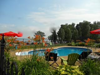 Bourgeois Chalets Plage St-Jean Nive View