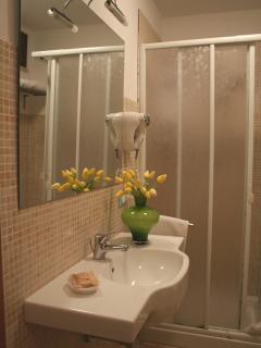fiori in bagno Appartamento Gelsomino