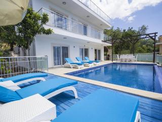 Spacious 4 Bedroom Villa with Very Private Pool, 10-15 mins Drive from Kalkan