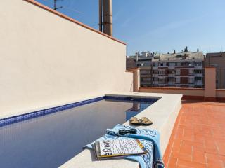 Aparteasy DELUXE apartments TERRACE & POOL centre, Barcelona