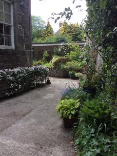 Exterior courtyard garden