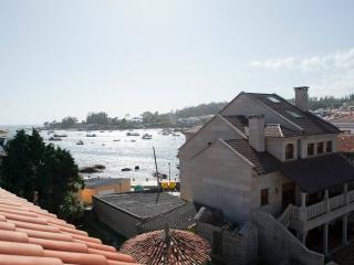 Apartamento duplex, 2 banos, 3 habitaciones, Isla de Arousa, 5 personas, vistas