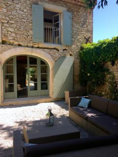 Hidden Courtyard with outdoor seating