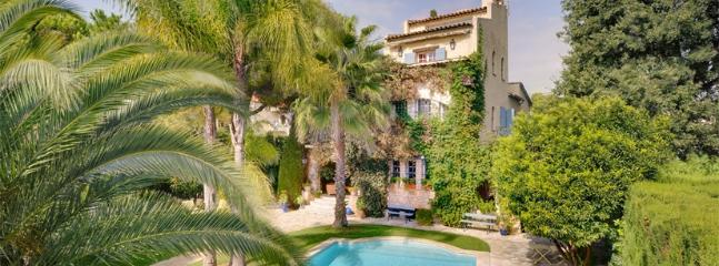 Juan Les Pins Villa Villa on the French Riviera, southern France villa, holiday on the Riviera, Juan-les-Pins